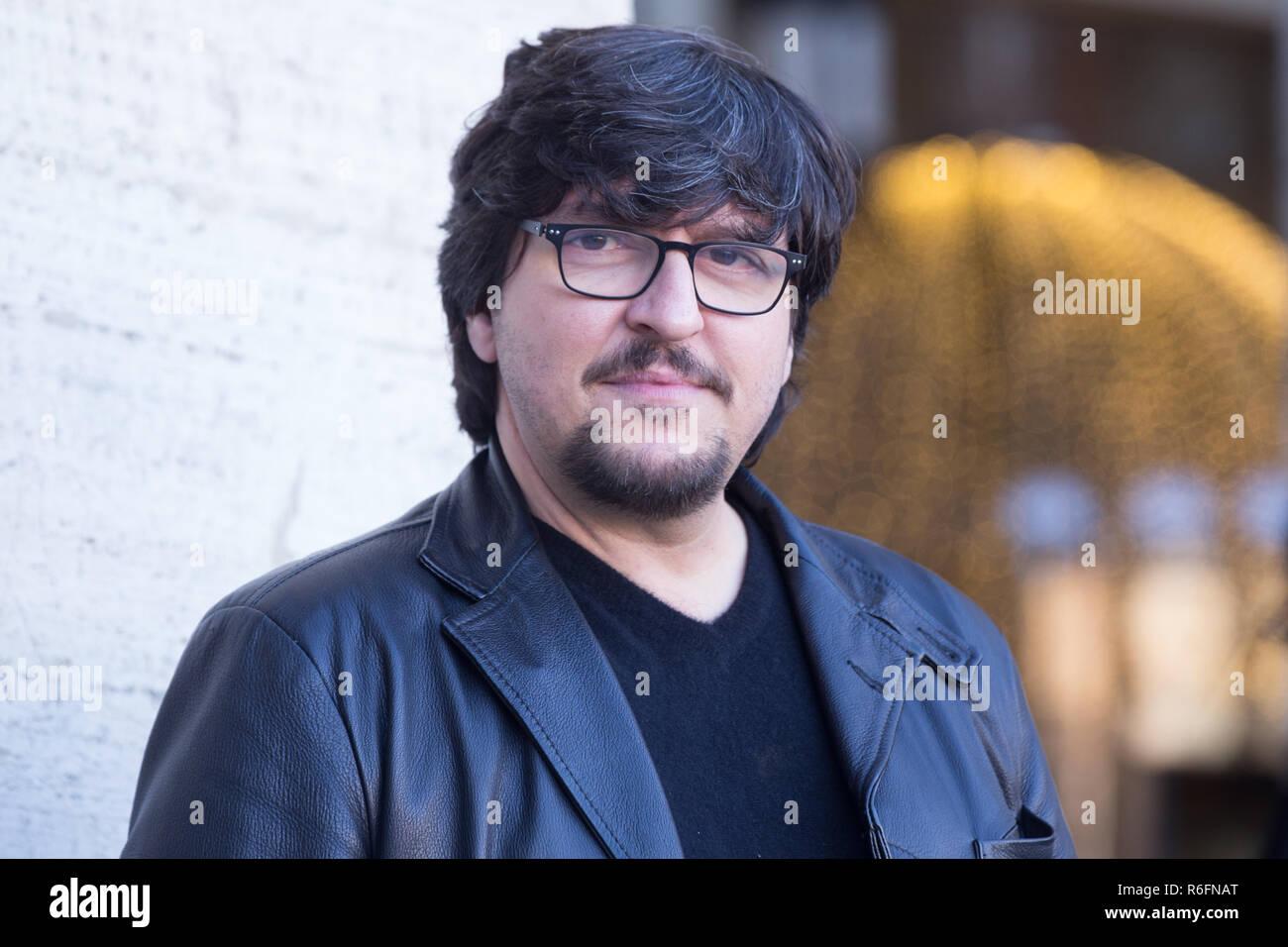 Roma, Italy. 04th Dec, 2018. Ricky Memphis Photocall of the Italian film