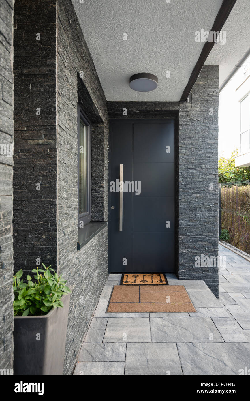 Modern House Design Door