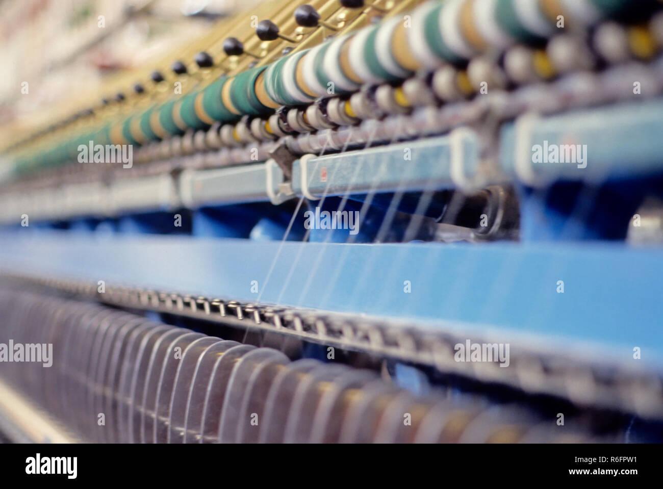 Textile - Stock Image