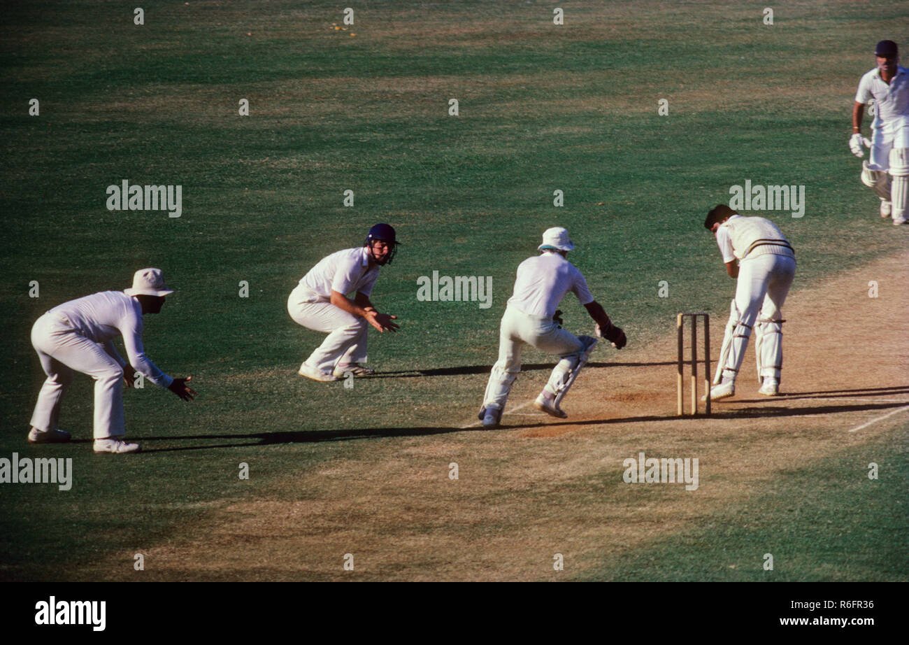 cricket match, bombay mumbai, maharashtra, india - Stock Image