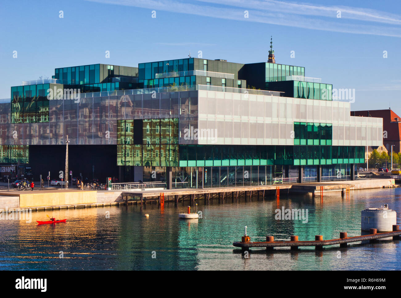 Danish Architecture Center, Dansk Arkitektur Center, Copenhagen, Denmark, Scandinavia - Stock Image