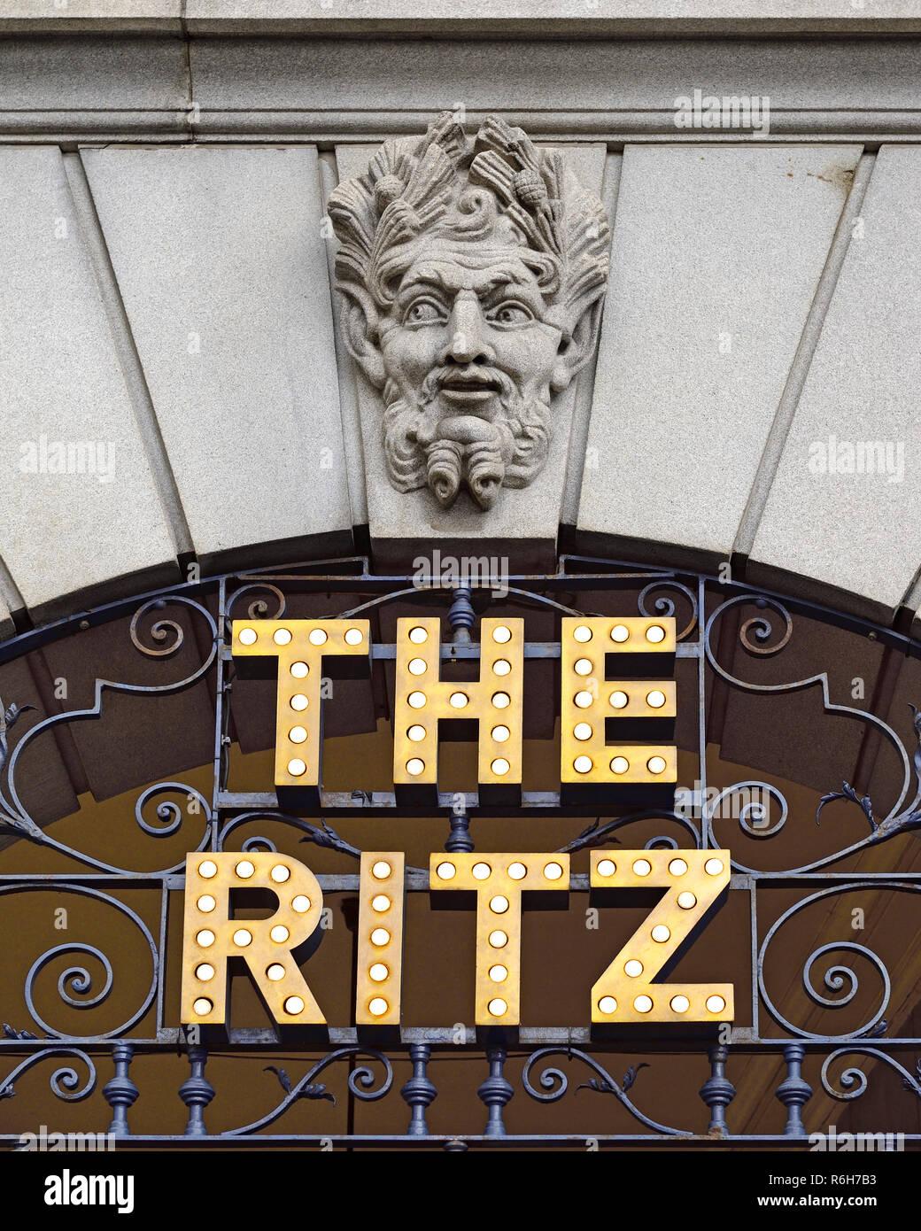 The Ritz London, England, United Kingdom - Stock Image