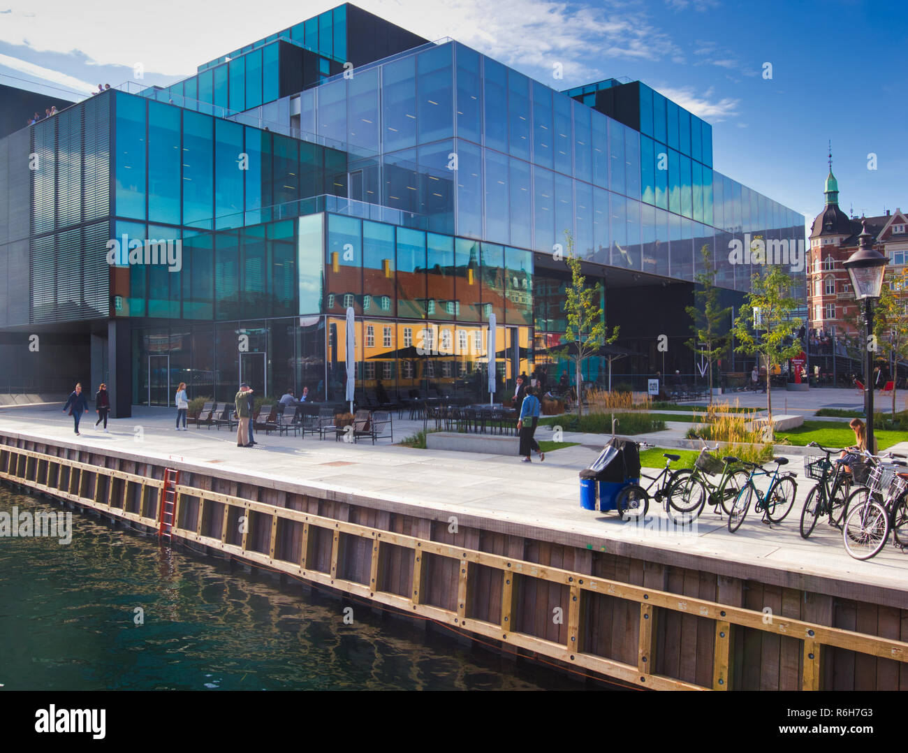 Danish Architecture Center (DAC), Copenhagen, Denmark, Scandinavia - Stock Image