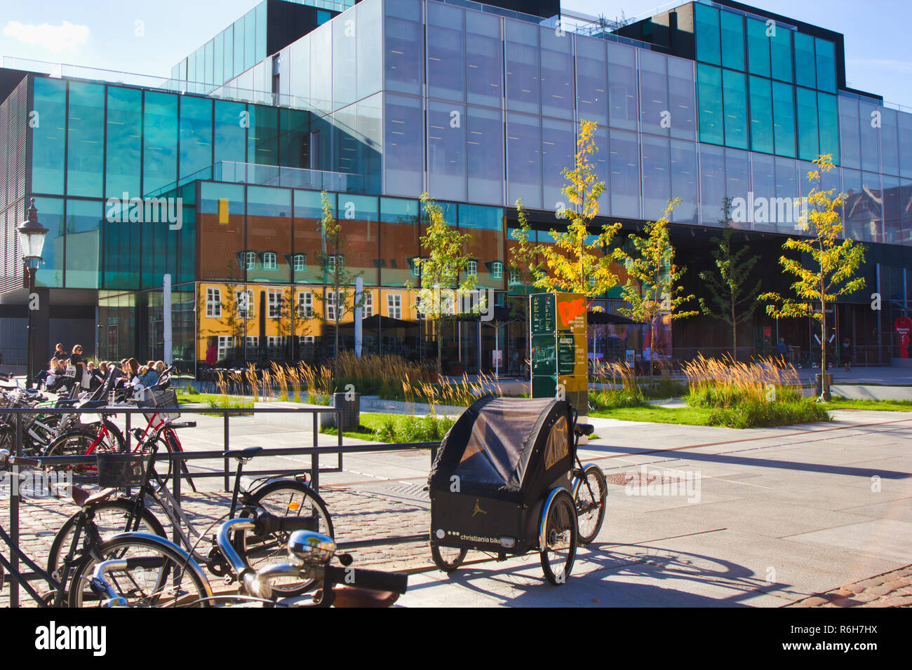 Danish Architecture Center (Dansk Arkitektur Center) DAC, Copenhagen, Denmark, Scandinavia. - Stock Image