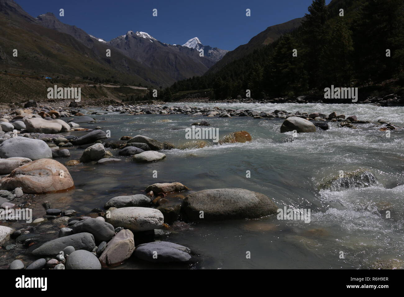Kinnaur, Himachal Pradesh, India - Stock Image