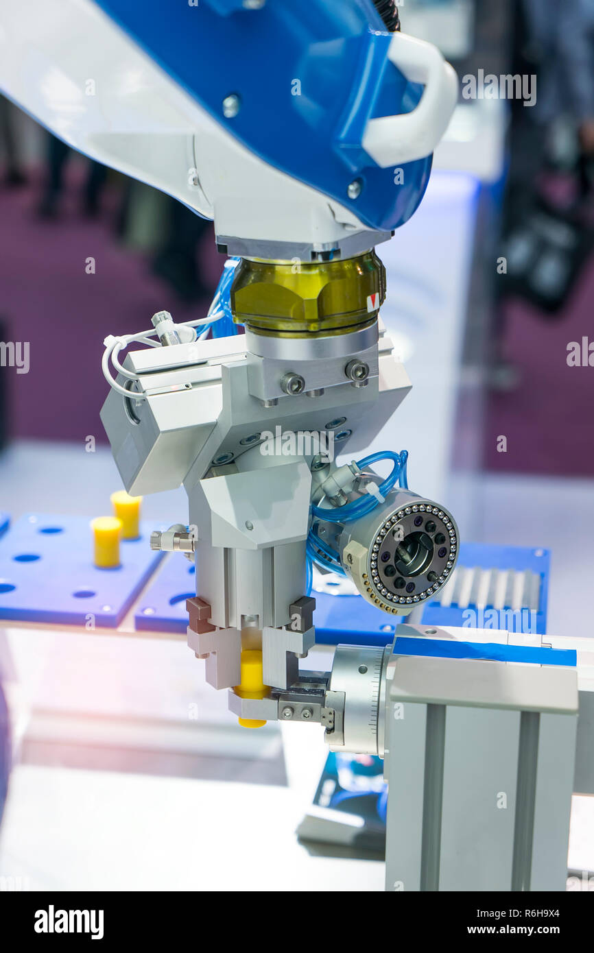 Robotic Arm production lines modern industrial technology  Automated