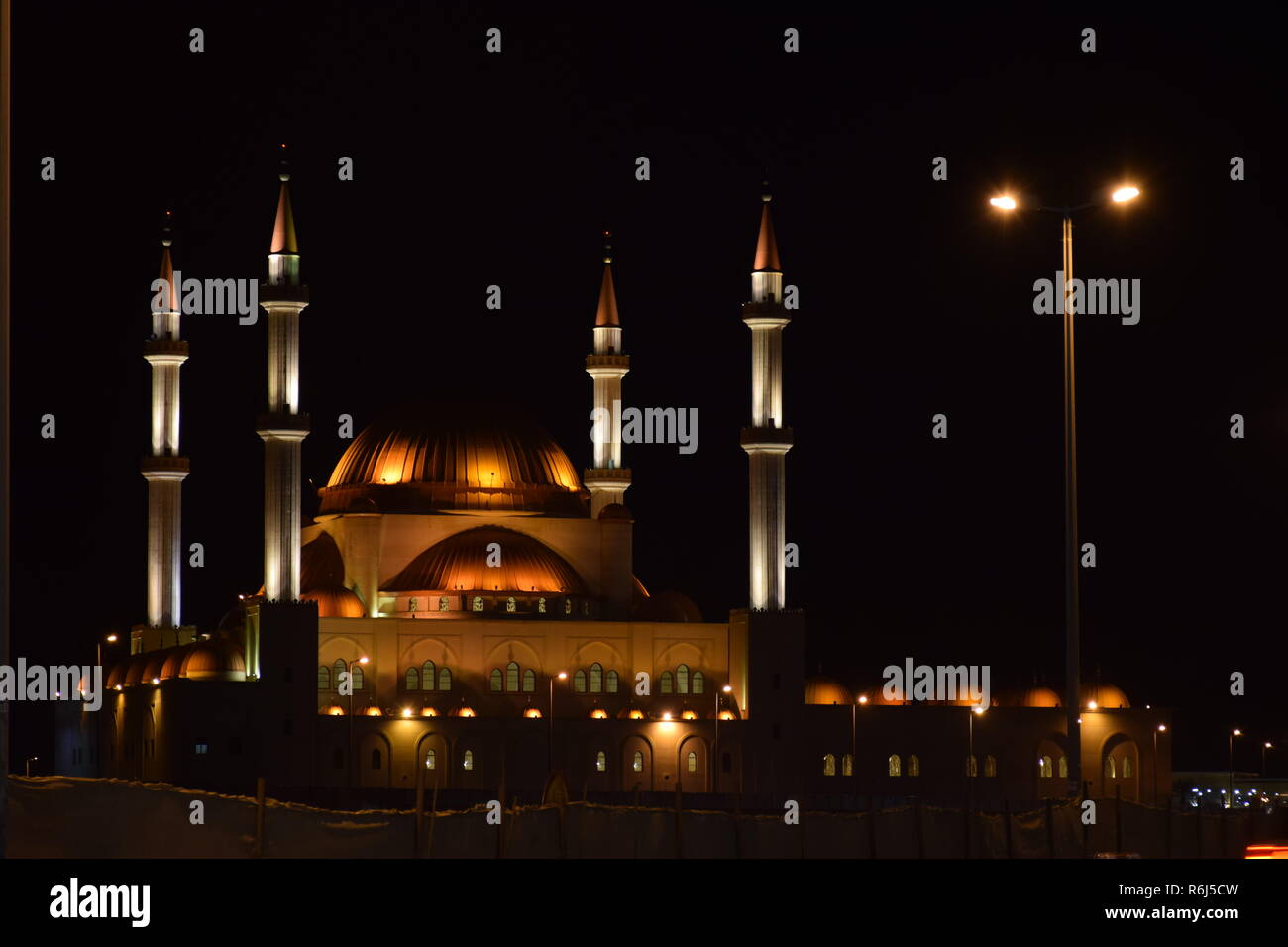 Al-Rajhi Mosque - Stock Image