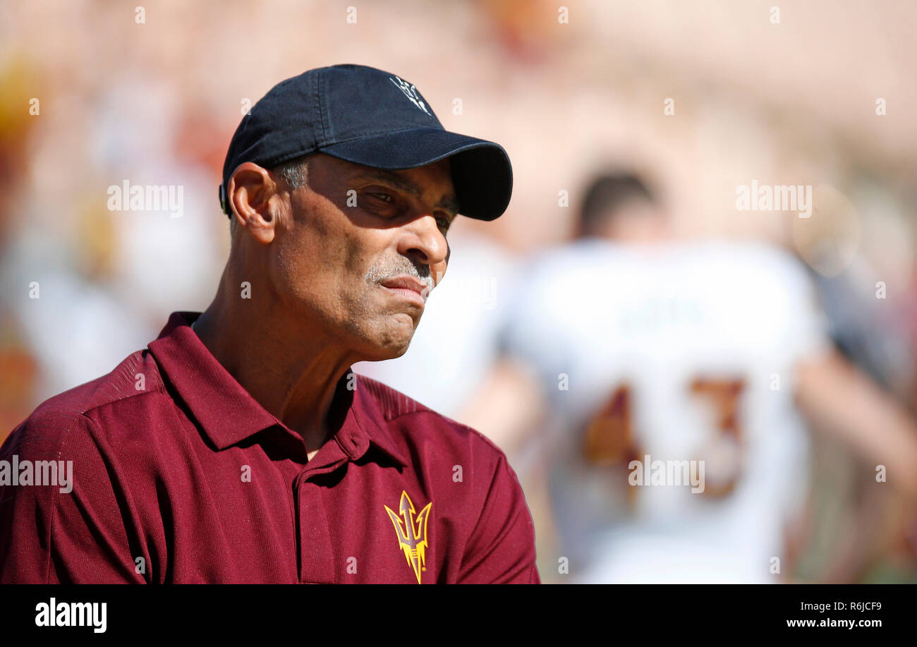 October 27 2018 Arizona State Sun Devils Head Coach Herm Edwards In