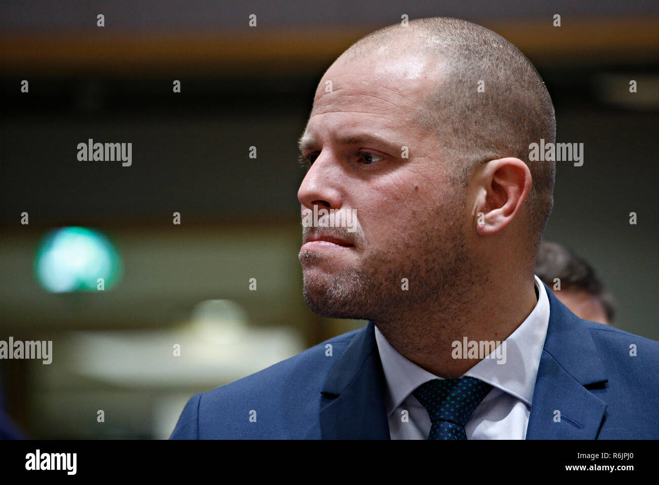 Brussels Belgium 6th Dec 2018 Theo Francken State Secretary For Asylum Policy And Migration Of Belgium
