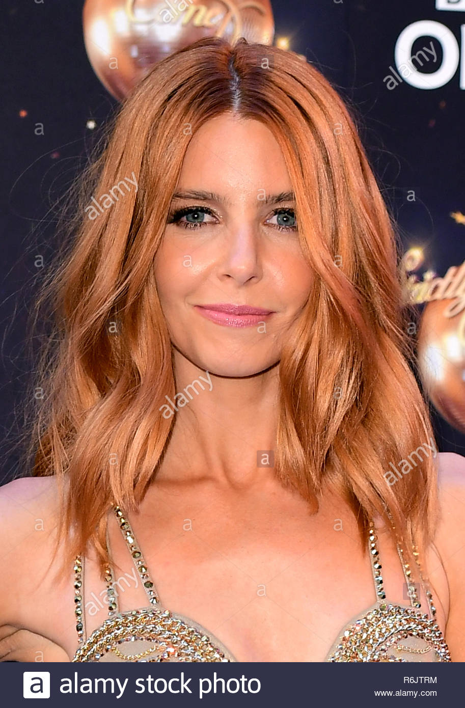 "File photo dated 27/08/18 of Strictly Come Dancing star Stacey Dooley, who has said her performance on last week's show left friends and family at home ""sobbing in the living room"". - Stock Image"