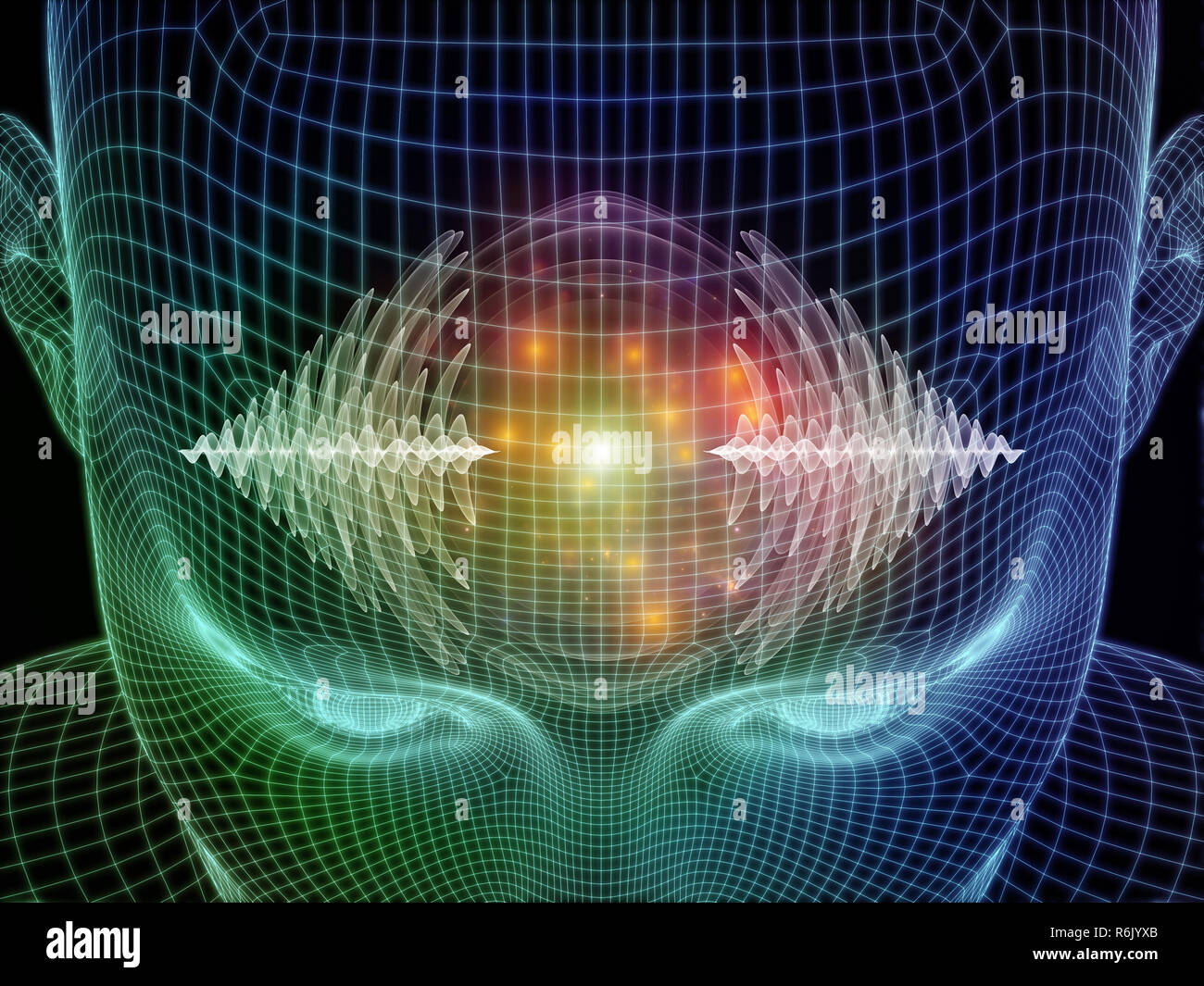 Mind Energy - Stock Image