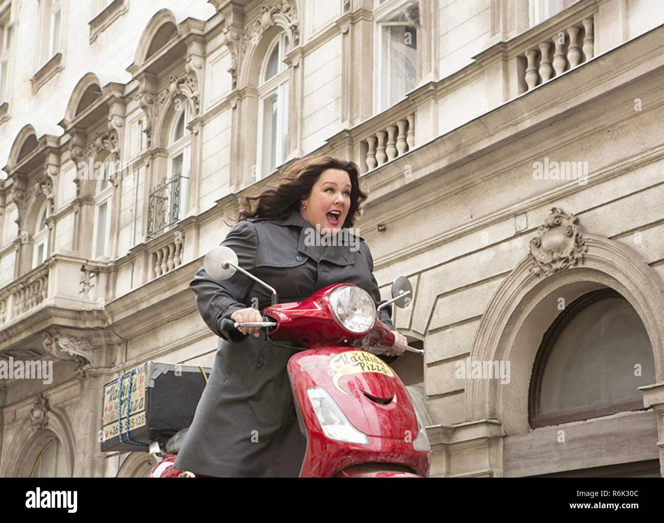SPY 2015 20th Century Fox film with Melissa McCarthy - Stock Image