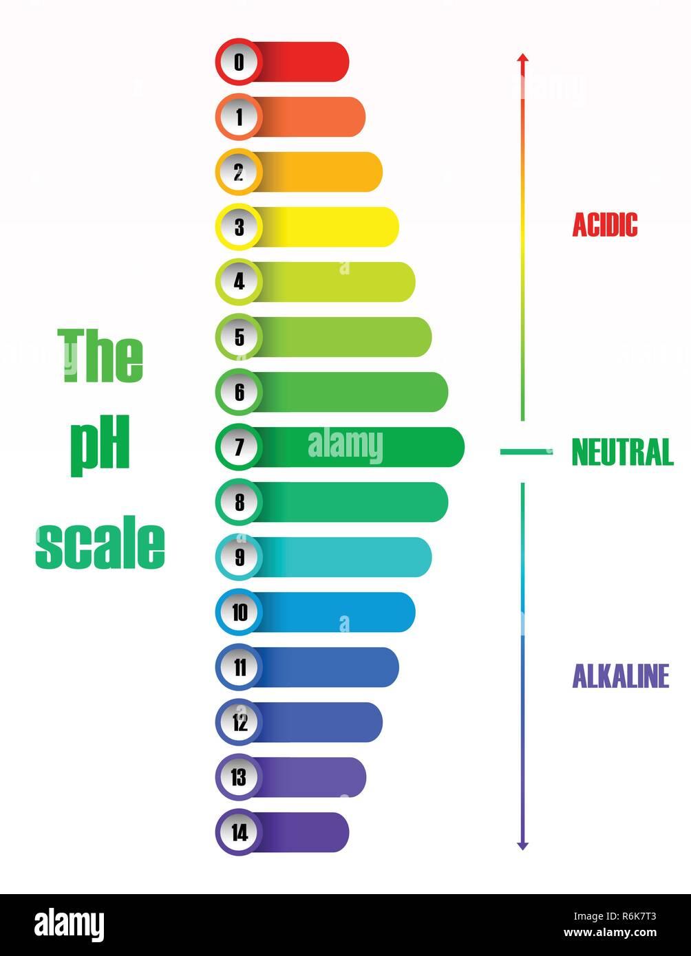Test Ph Scale Diagram