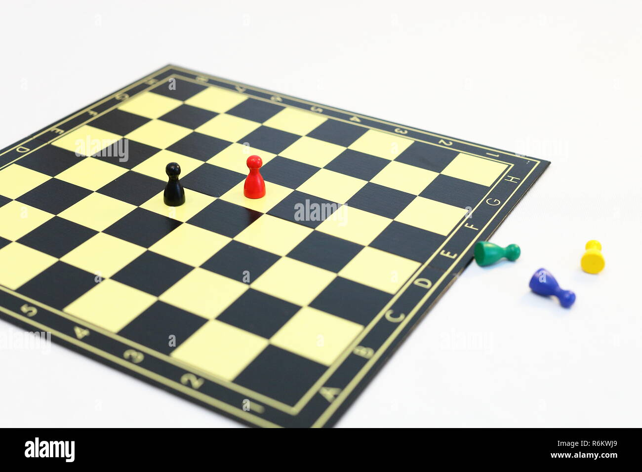 stalemate in the formation of a government - Stock Image
