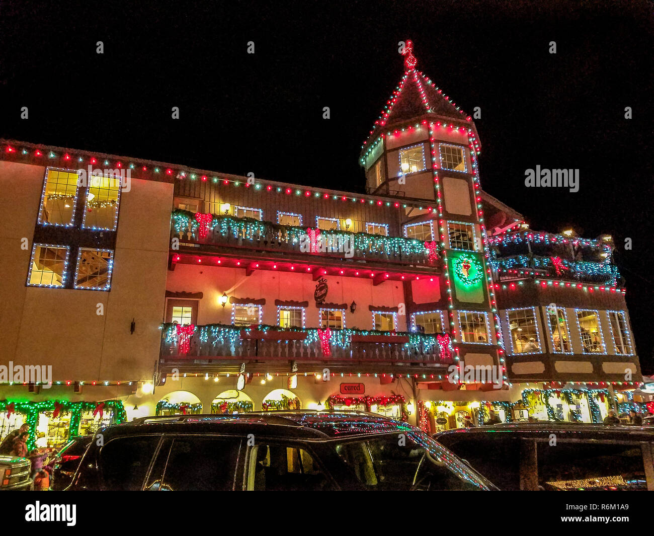 Leavenworth Christmas Lights.Christmas Lights In Leavenworth Wa Each Year The Town