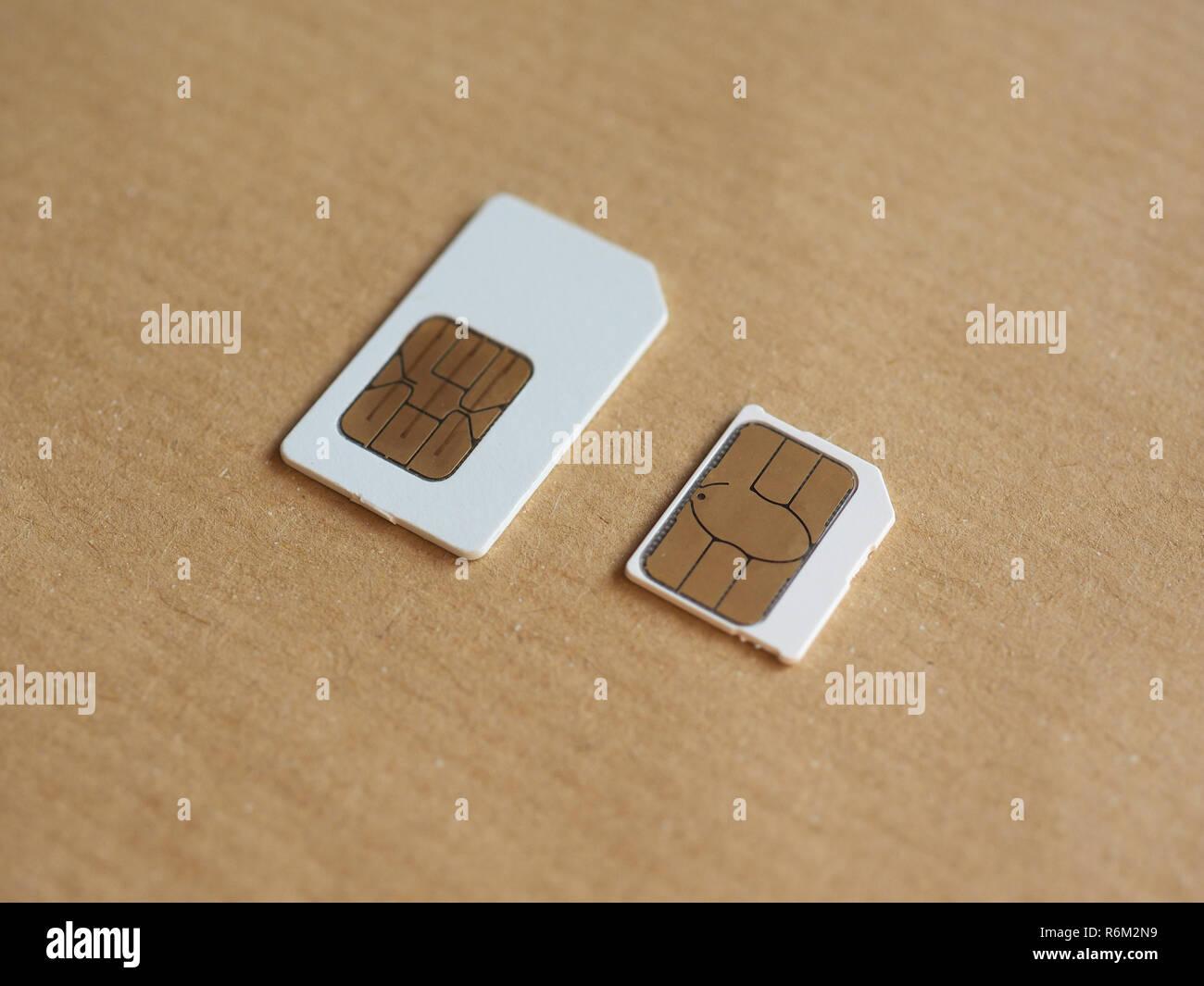 Micro Sim Card Stock Photos Micro Sim Card Stock Images Alamy