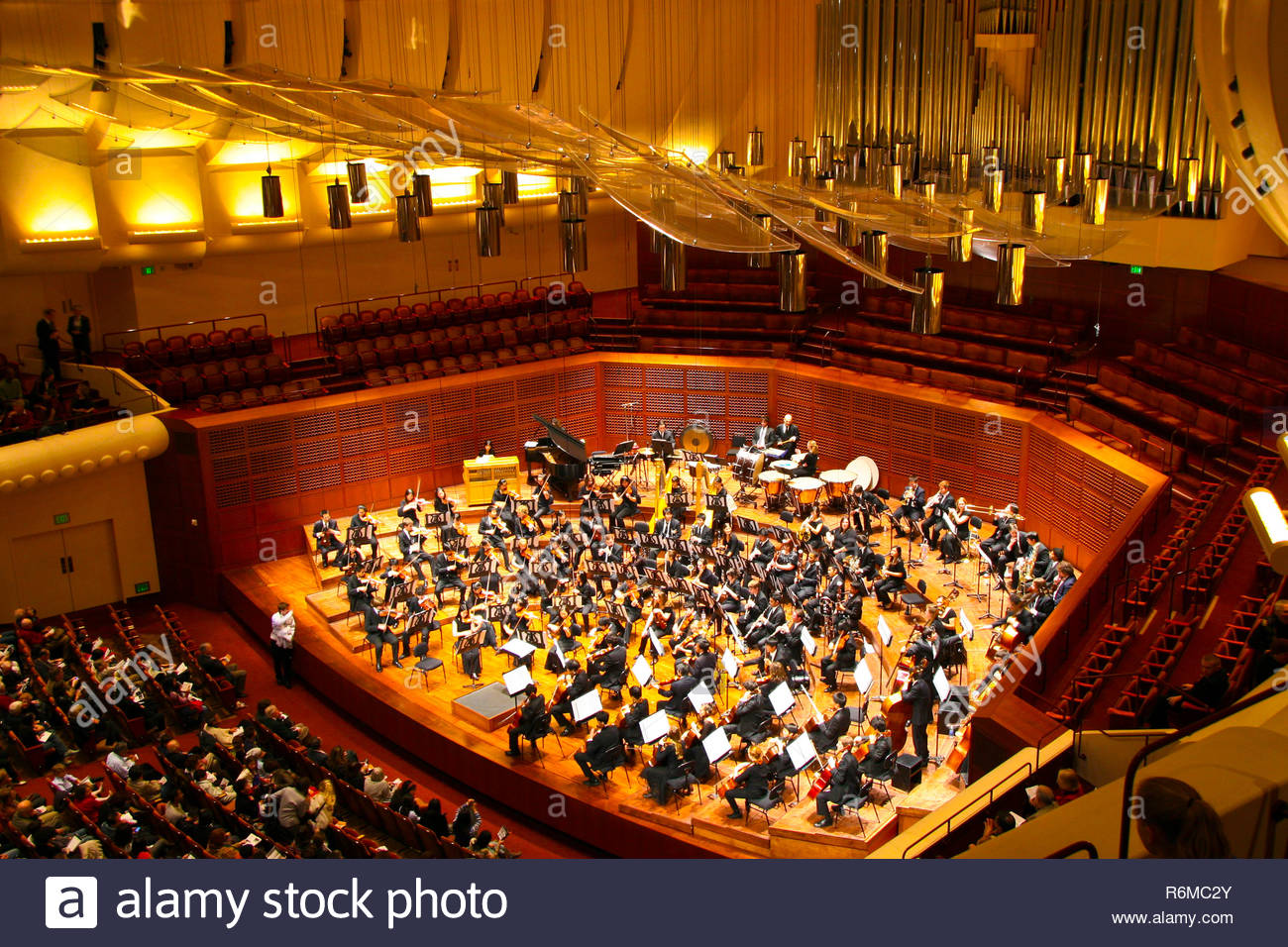 San Francisco Symphony Calendar.San Francisco Symphony Orchestra Stock Photos San Francisco