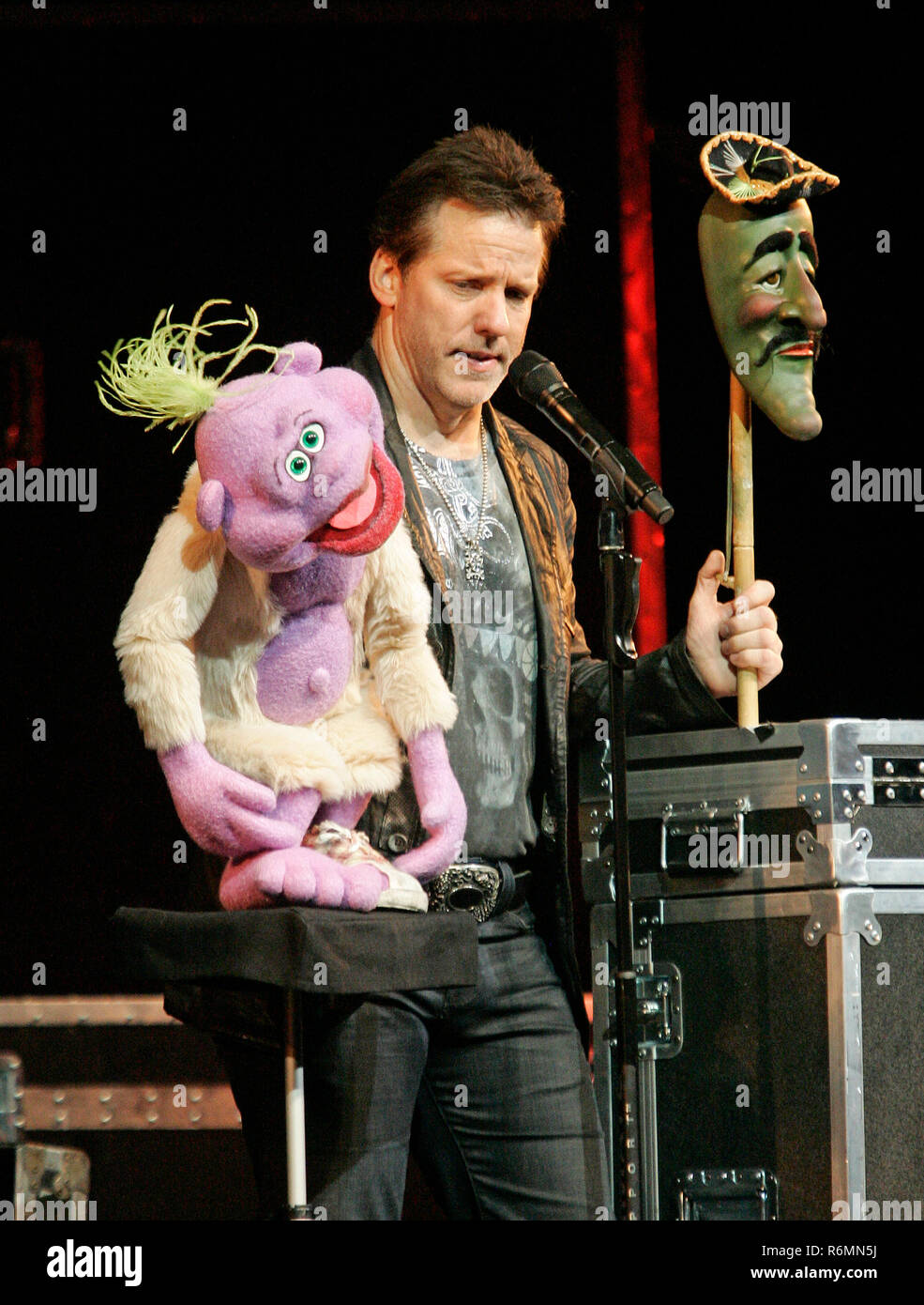 Jeff Dunham With Peanut And Jose Jalepeno Performs In Concert At The