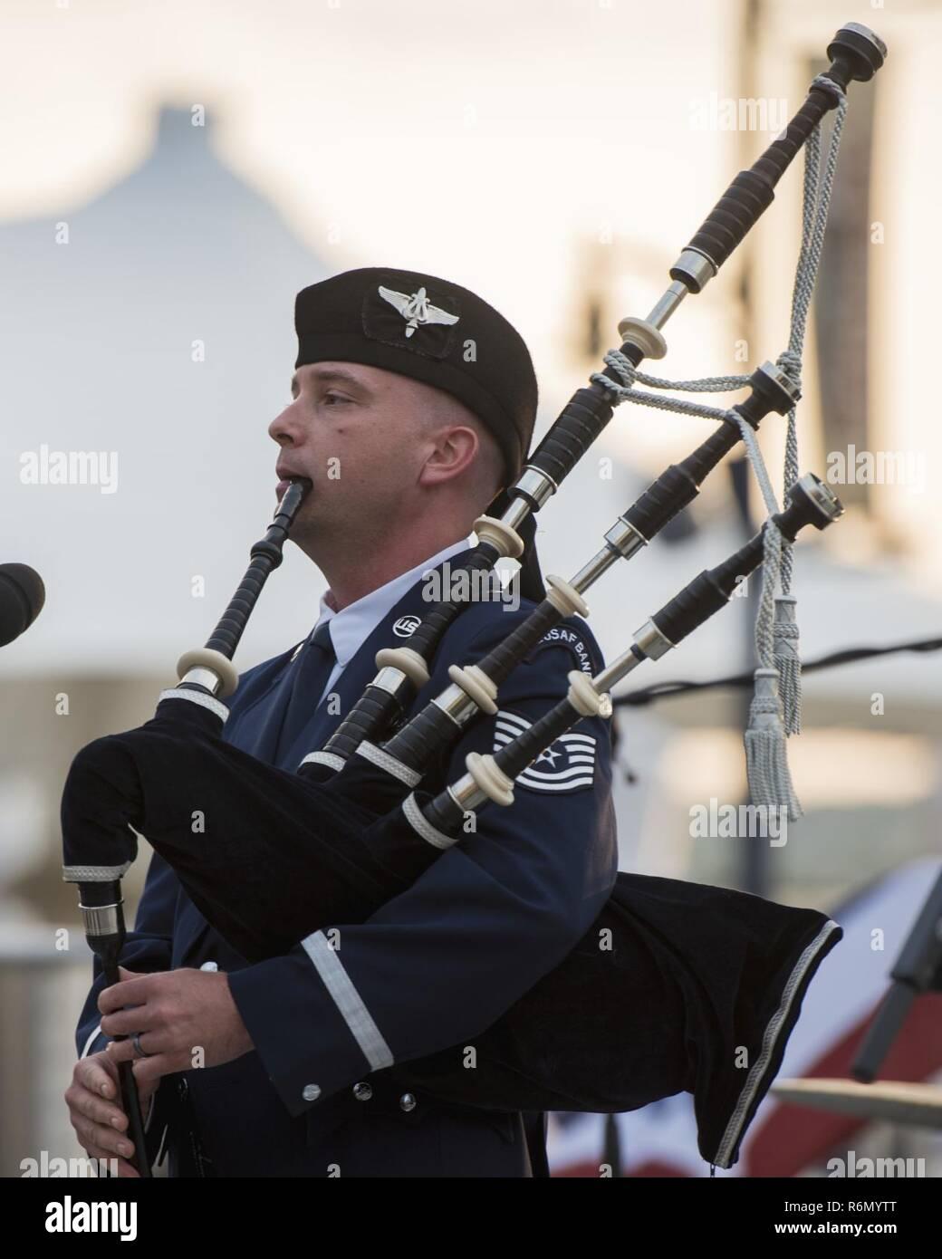 Tech  Sgt  Adam Tianello, U S  Air Force Band's Celtic Aire ensemble