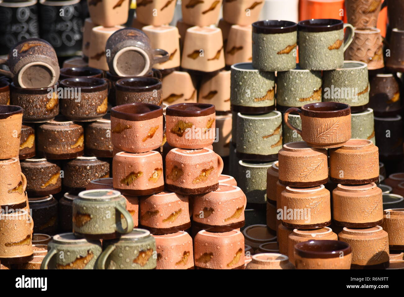 Clay Mugs High Resolution Stock Photography And Images Alamy