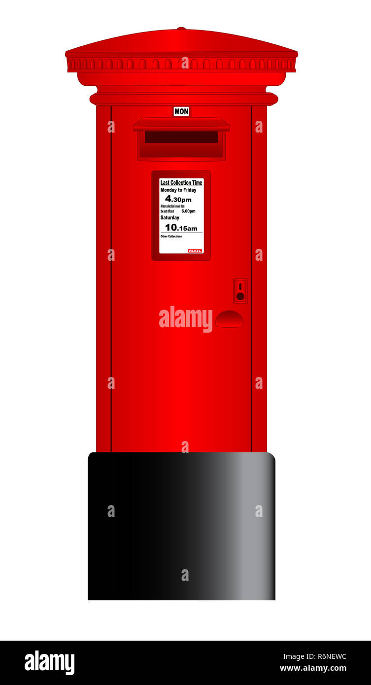Postbox Drawing High Resolution Stock Photography And Images Alamy