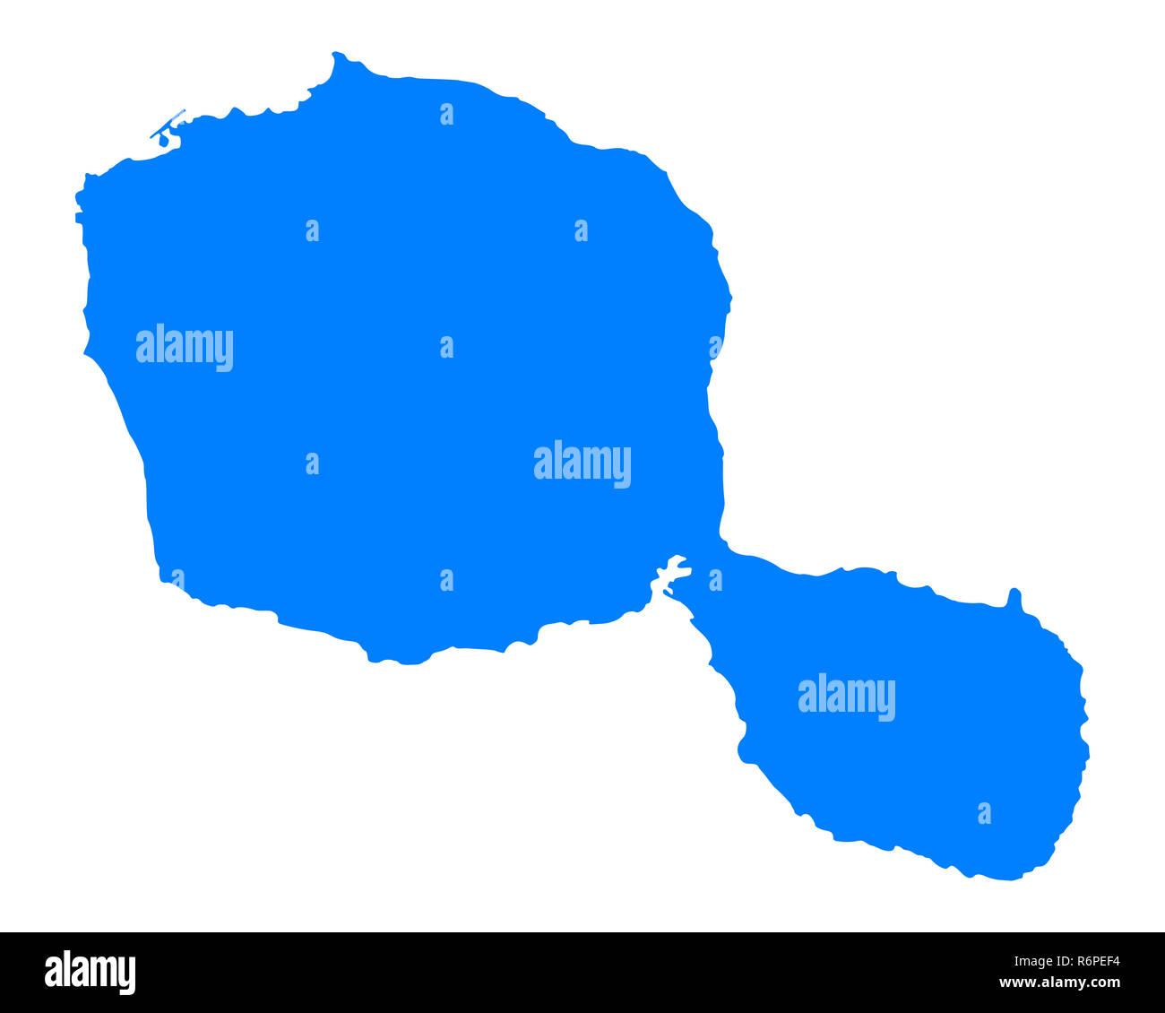 Map Of Tahiti Stock Photo 227917064 Alamy