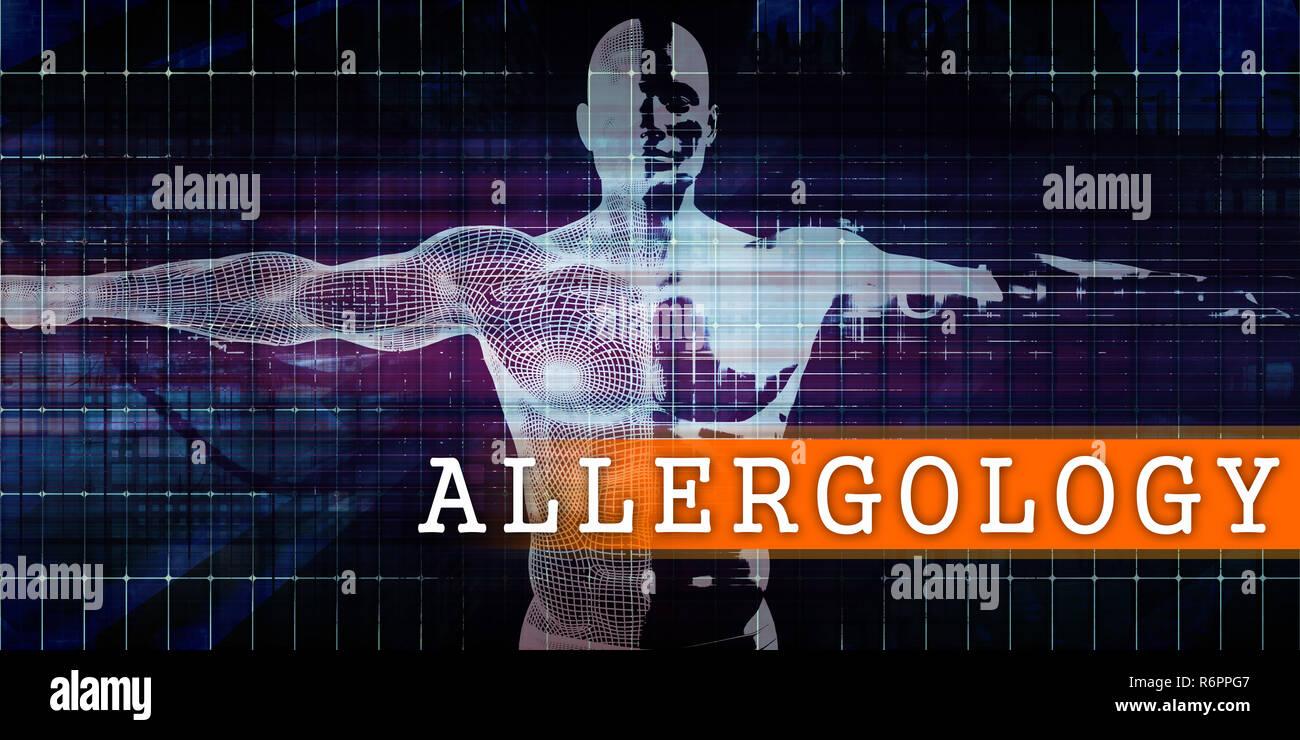 Allergology Medical Industry - Stock Image
