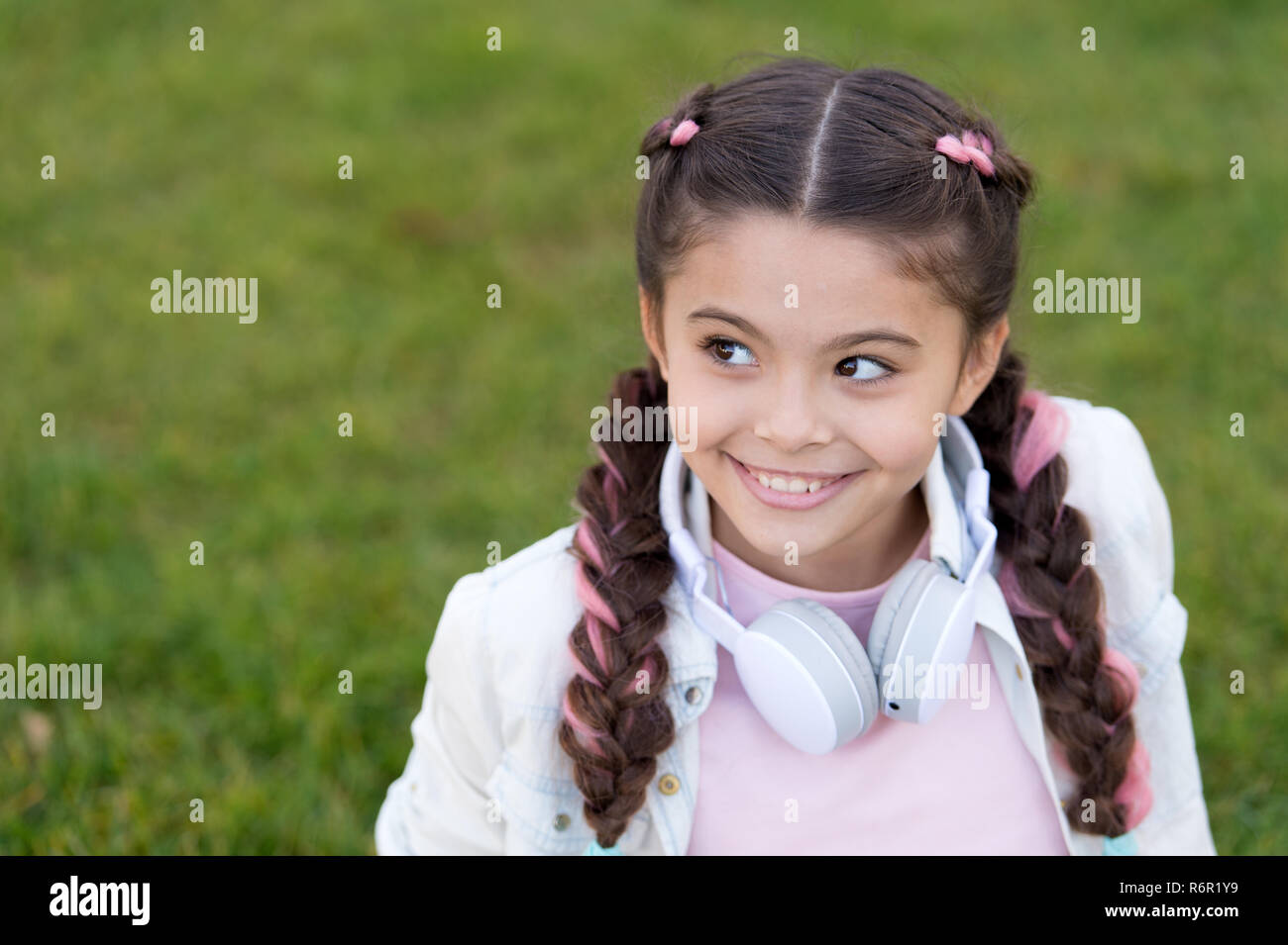 f21fde58d Happy Carefree Little Girl Walking Stock Photos   Happy Carefree ...