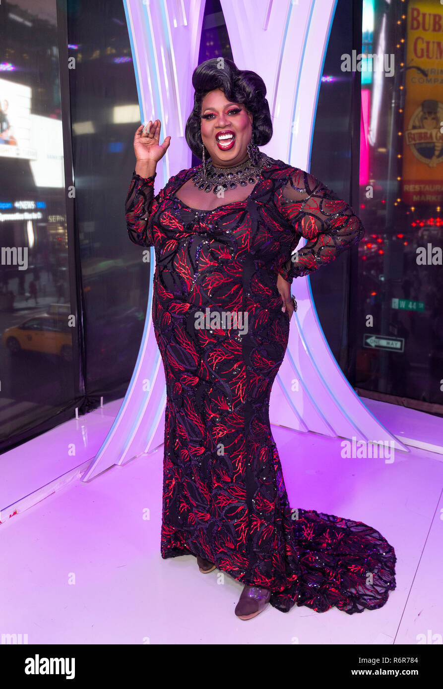 New York, United States  05th Dec, 2018  Latrice Royale