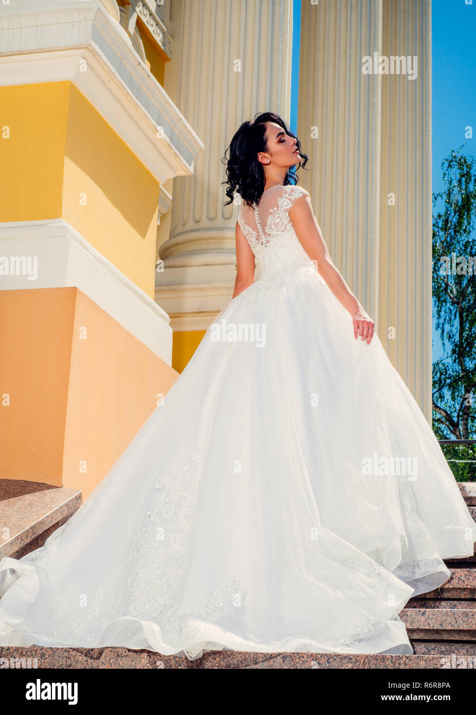 Wonderful Bridal Gown Beautiful Wedding Dresses In Boutique Woman Is Preparing For Wedding Elegant Wedding Salon Is Waiting For Bride Happy Bride Before Wedding Engagement It Suits Stock Photo Alamy,Casual Pakistani Wedding Guest Dresses 2020