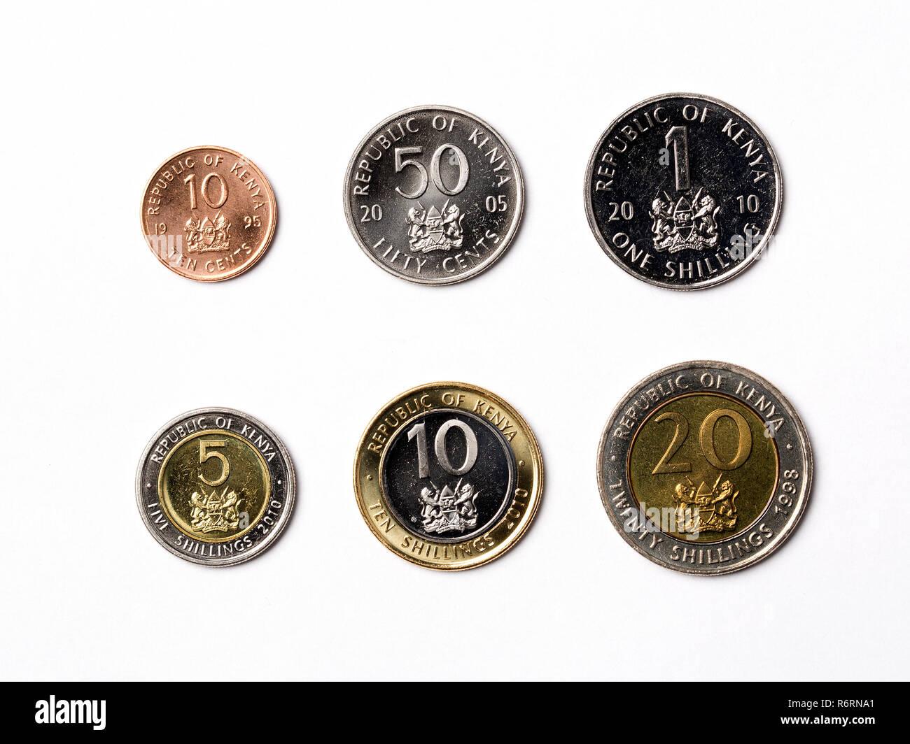 Kenyan shillings Stock Photo