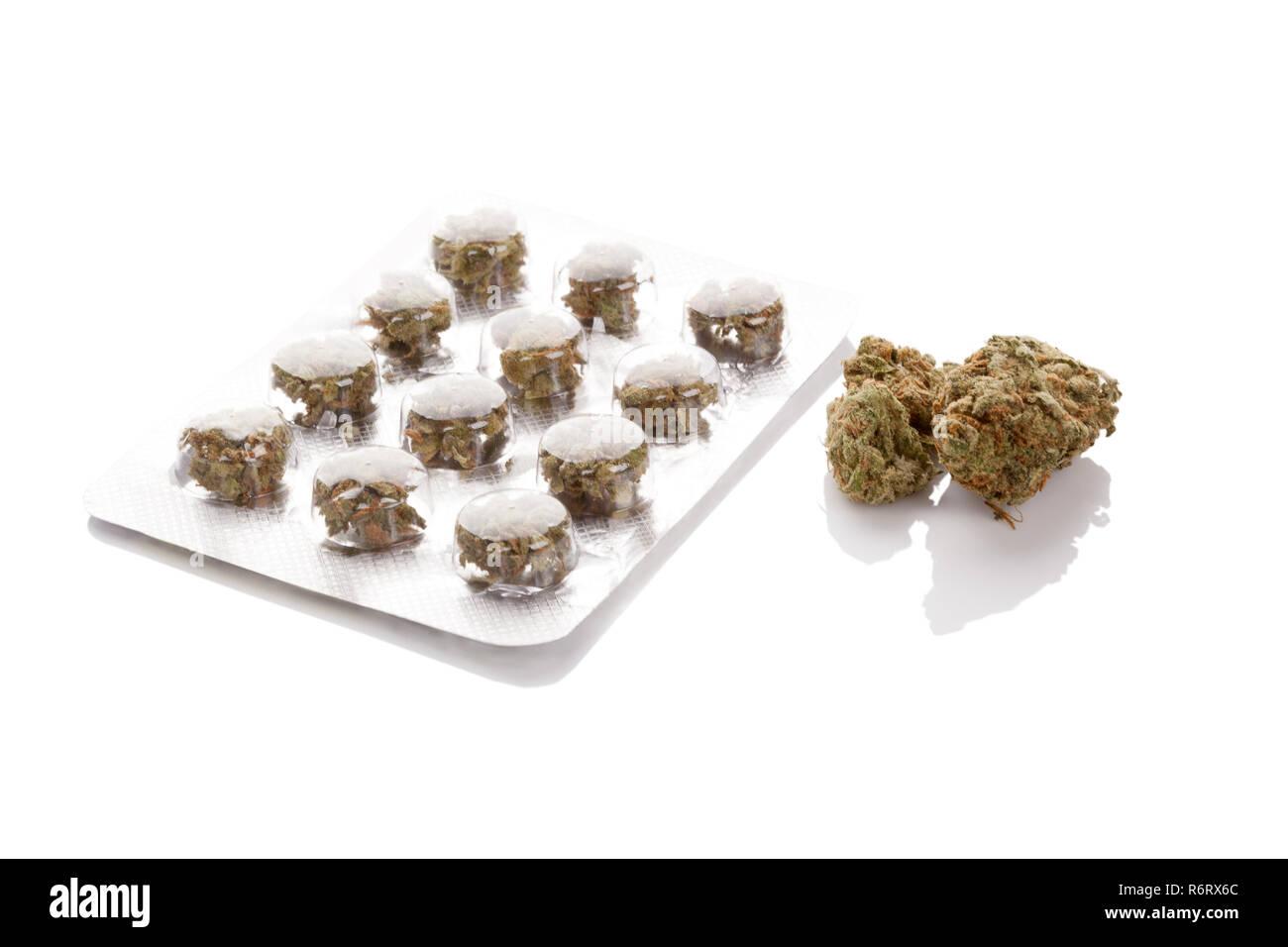Medical Marijuana concept. - Stock Image