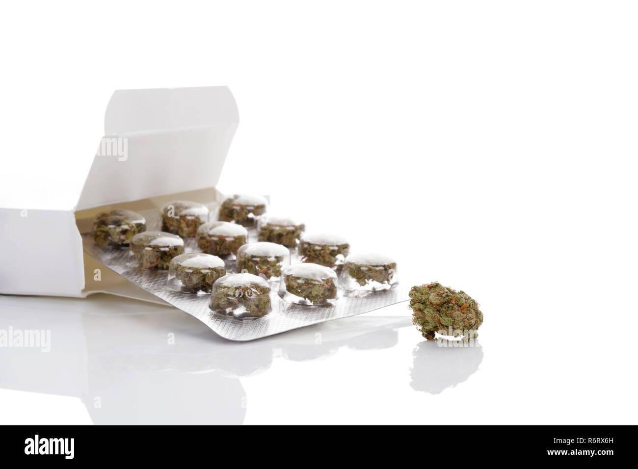 Medical cannabis. - Stock Image