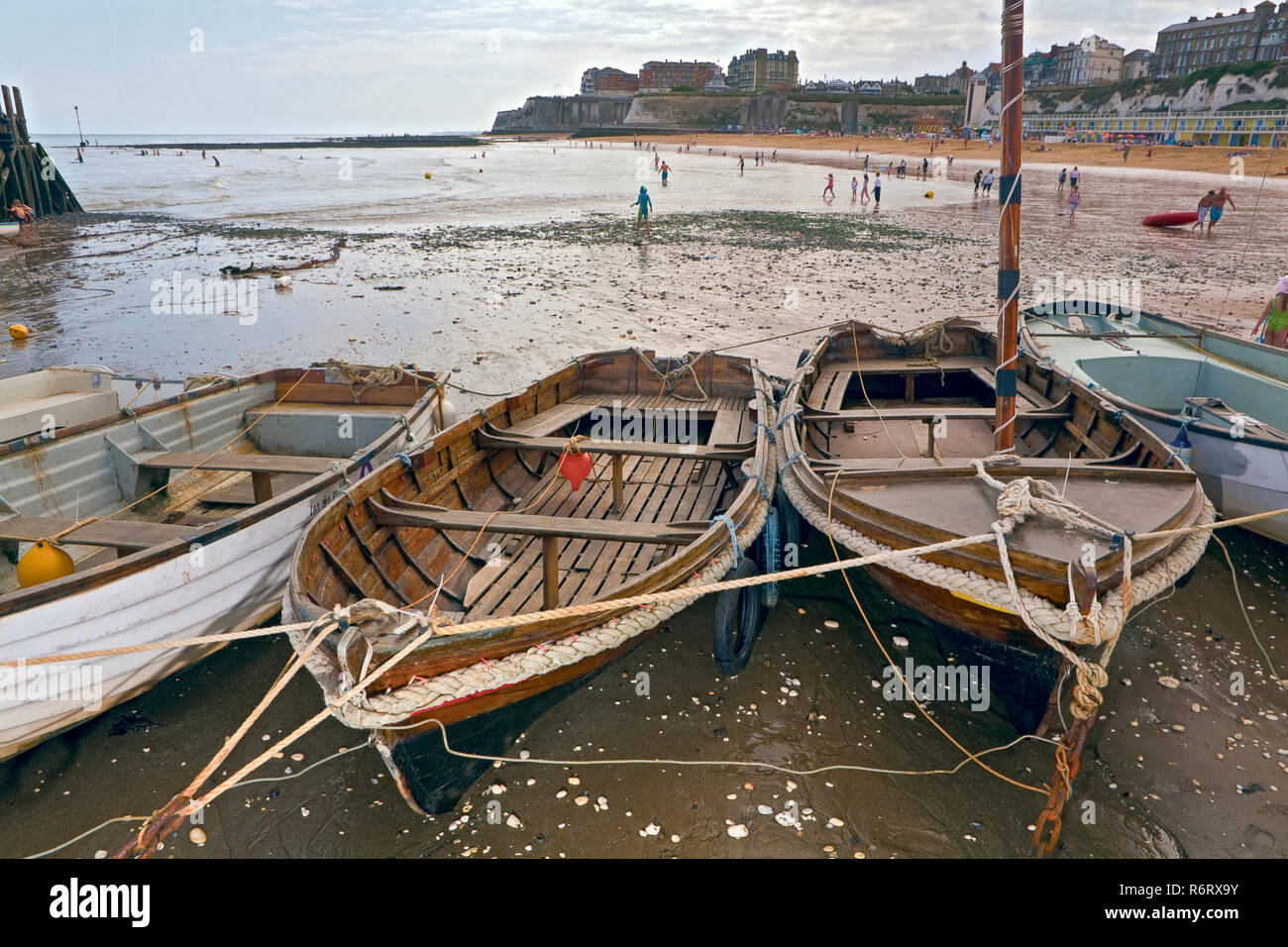 Viking Bay, Broadstairs, Ent, England. - Stock Image