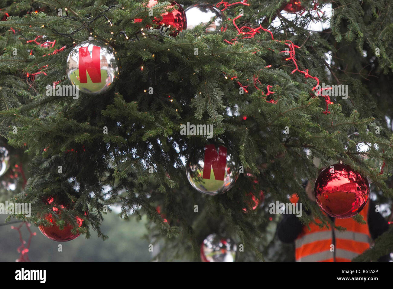 Albero Di Natale Washington Deluxe.Page 3 11 12 06 High Resolution Stock Photography And Images Alamy