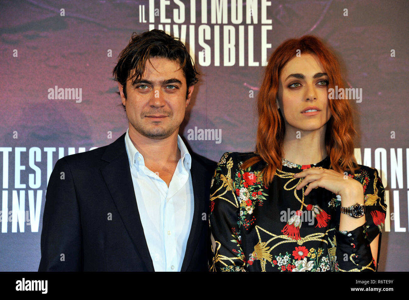 Rome, Italy  06th Dec, 2018  Rome, photocall of the film The