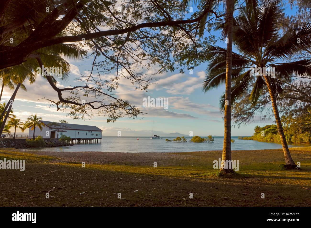 Port Douglas in North Queensland, Australia - Stock Image