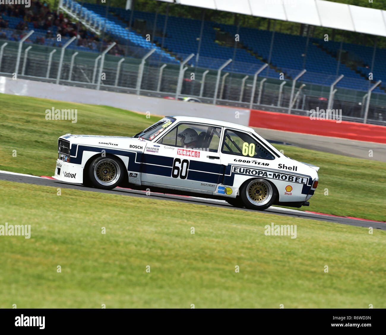 mark wright ford escort rs 1800 super touring car trophy silverstone classic 2015