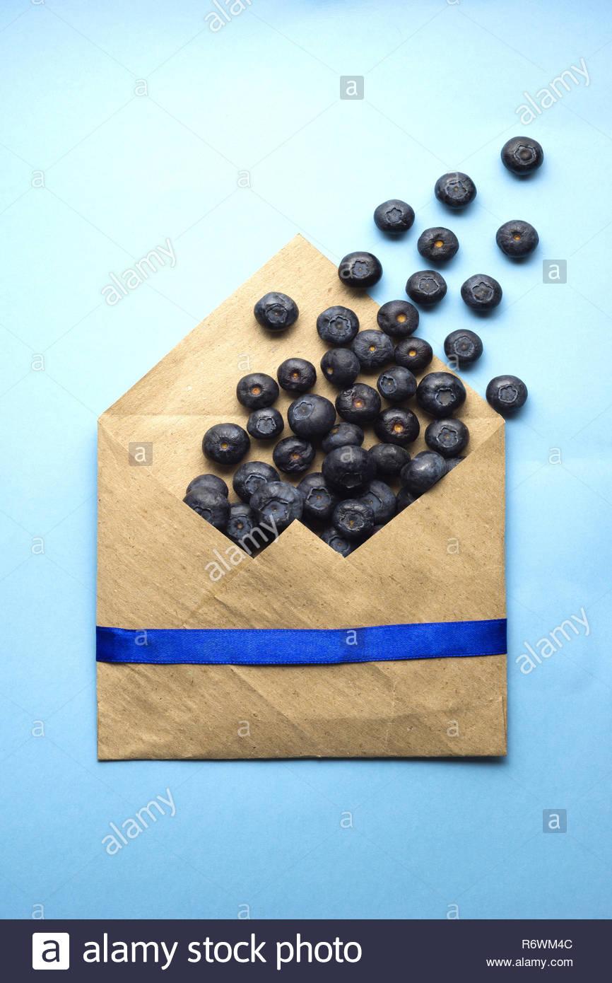 Sweet mail. Stock Photo
