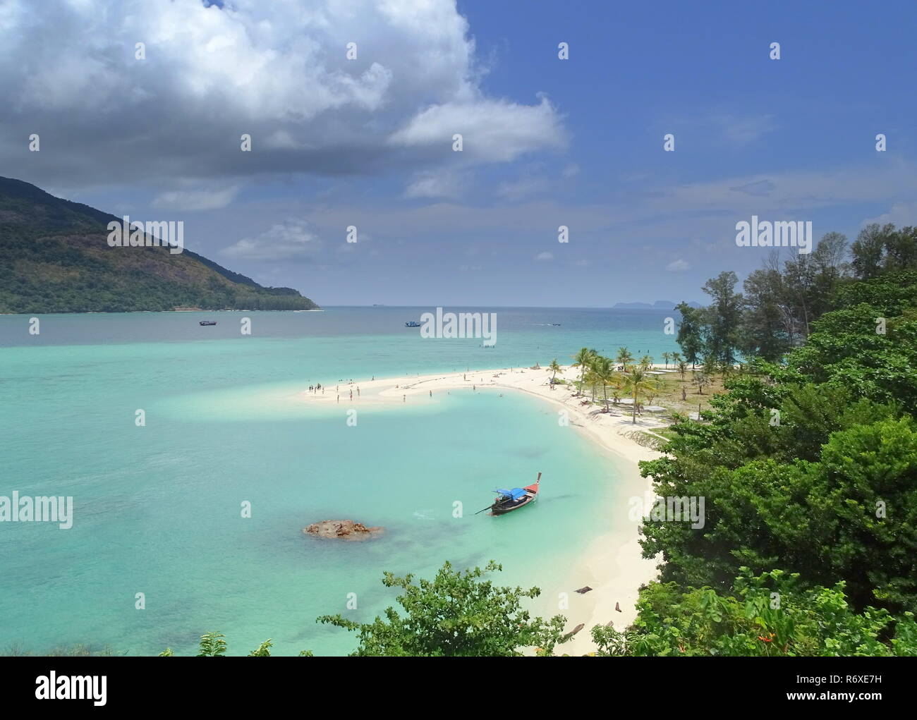 ko lipe island in south thailand - Stock Image