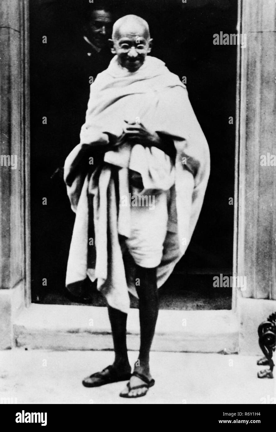 Mahatma Gandhi (1869-1948) Leader Of India's Campaign for Home Rule MODEL RELEASE NOT AVAILABLE - Stock Image