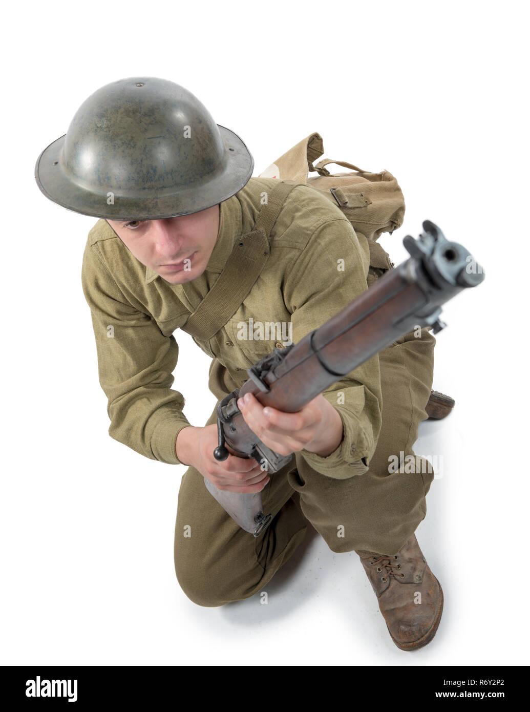 Army Helmet British Stock Photos & Army Helmet British Stock Images