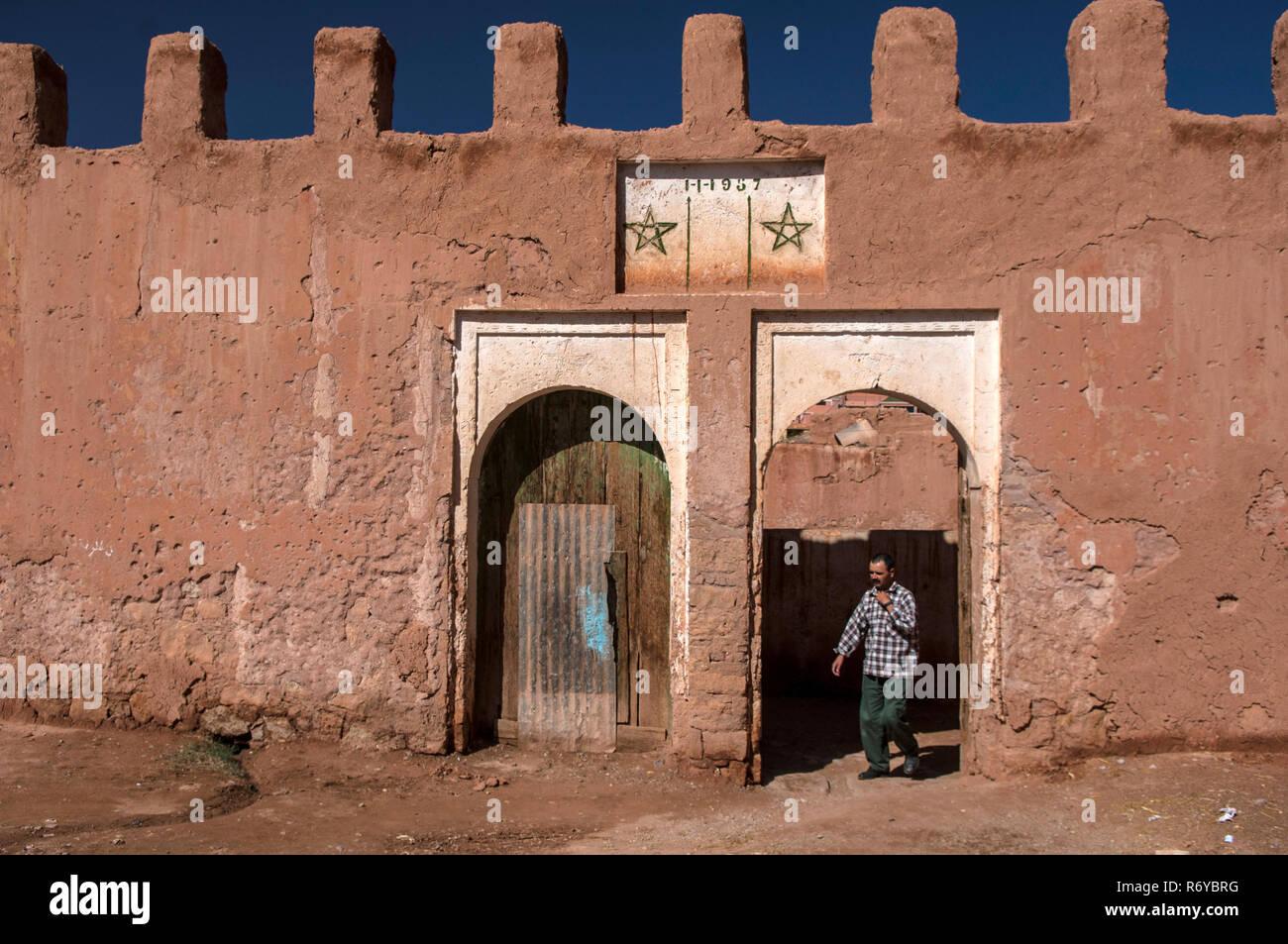 Er Rachidia, Sahara Desert Stock Photo