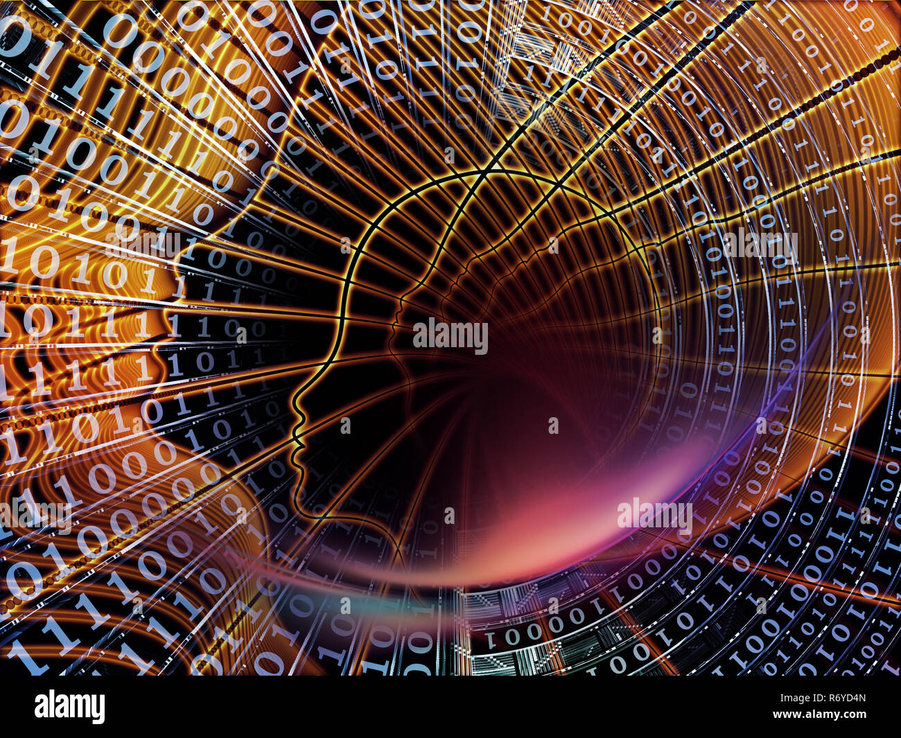 Evolving Calculations - Stock Image