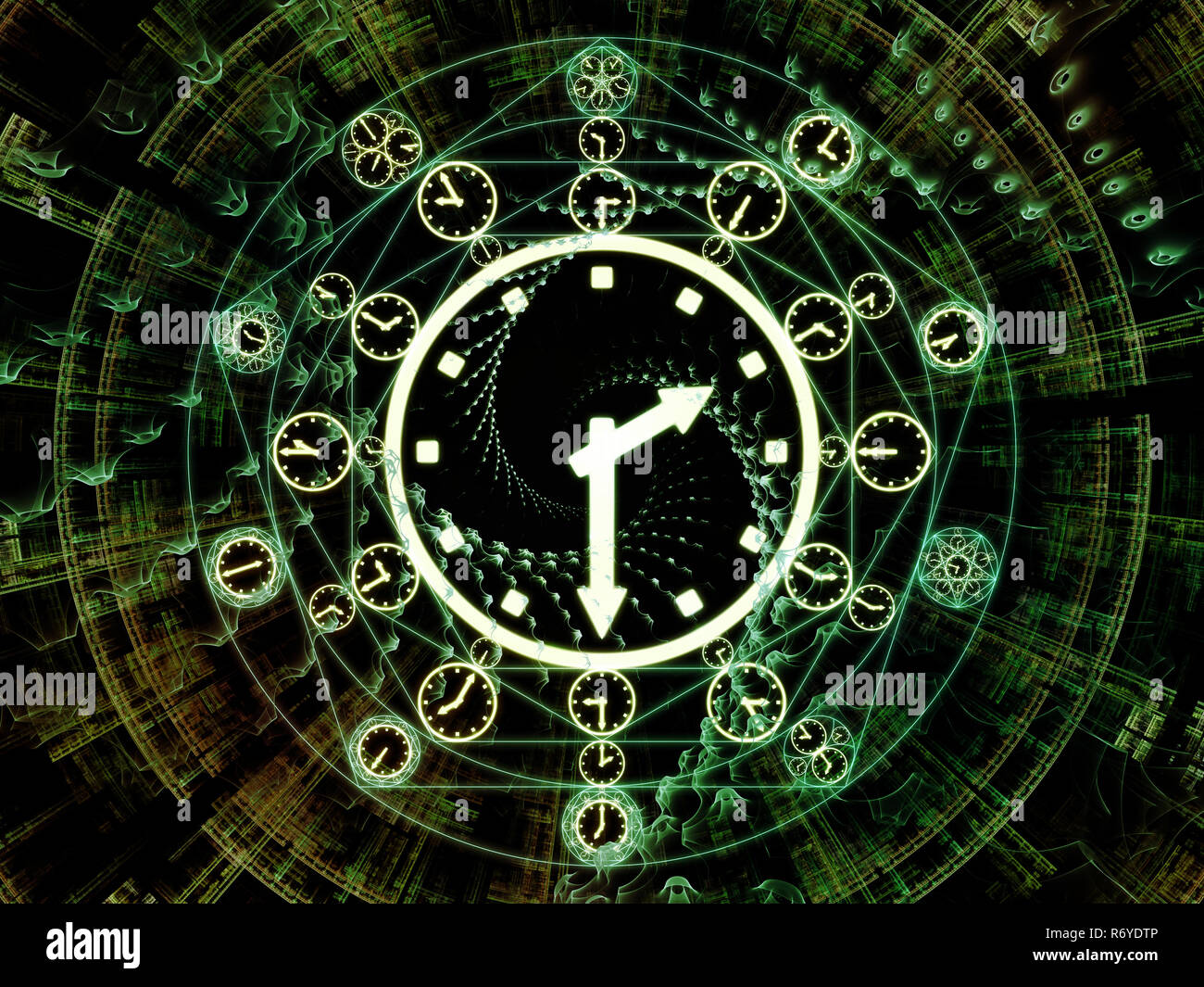 Vision of Times Past - Stock Image