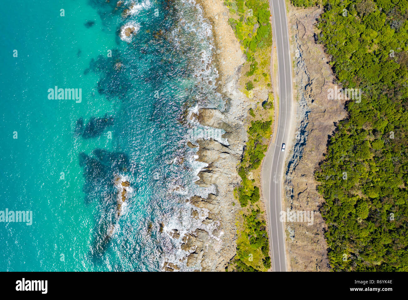Great Ocean Road in Australia Stock Photo