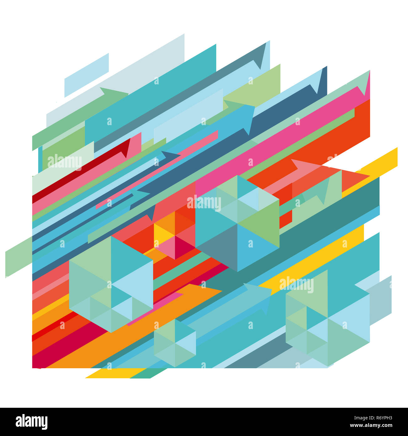 dynamic pattern,abstract illustration Stock Photo