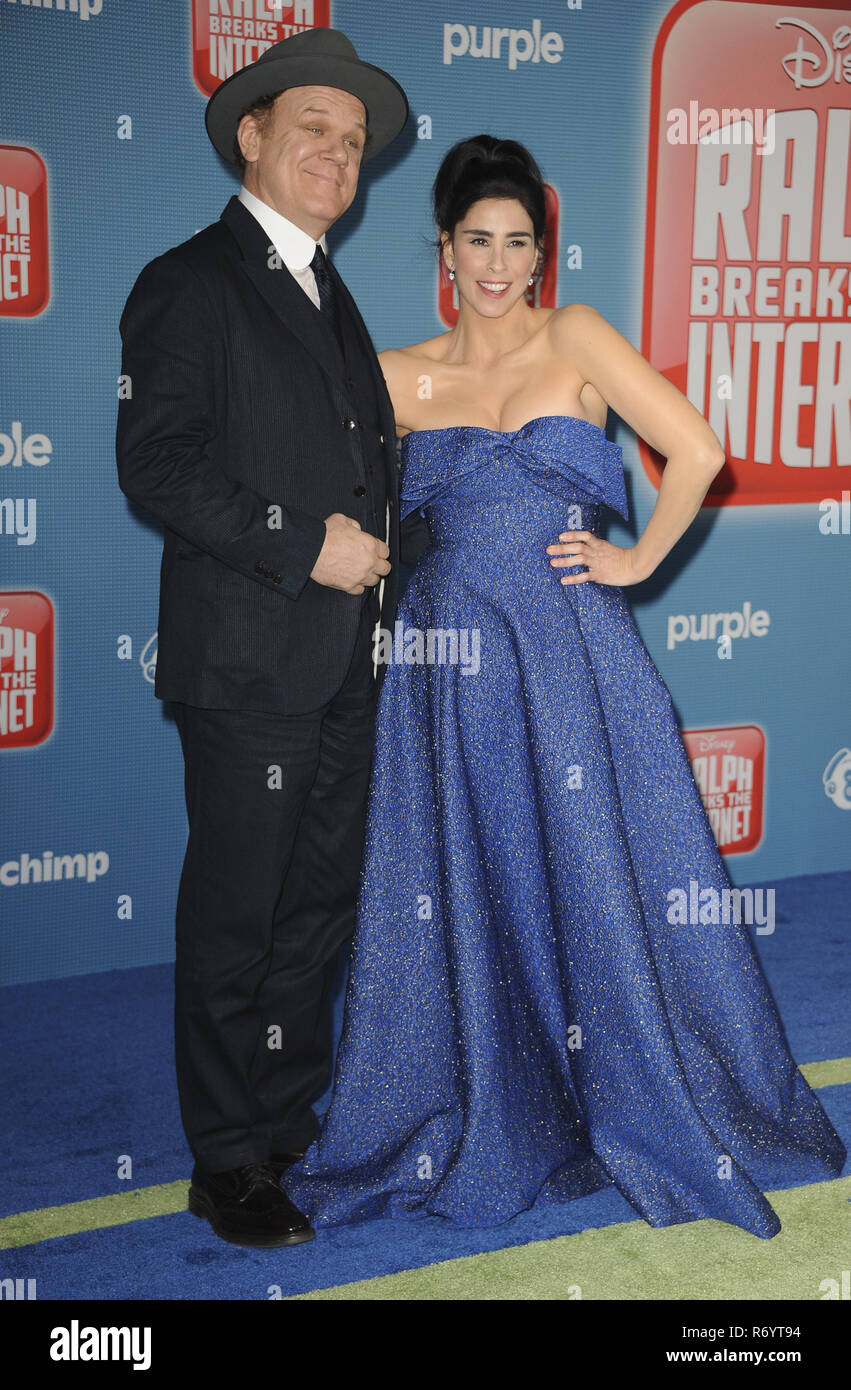 Film Premiere Ralph Breaks The Internet Featuring John C Reilly Sarah Silverman Where Los Angeles California United States When 05 Nov 2018 Credit Apega Wenn Com Stock Photo Alamy