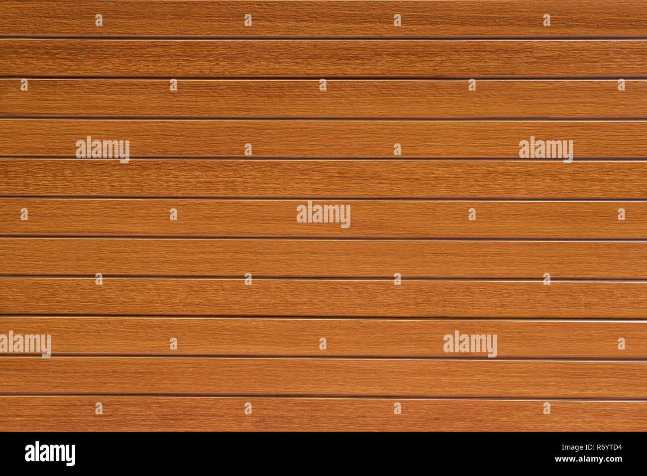 Brown wooden background. Closeup wooden table texture. - Stock Image