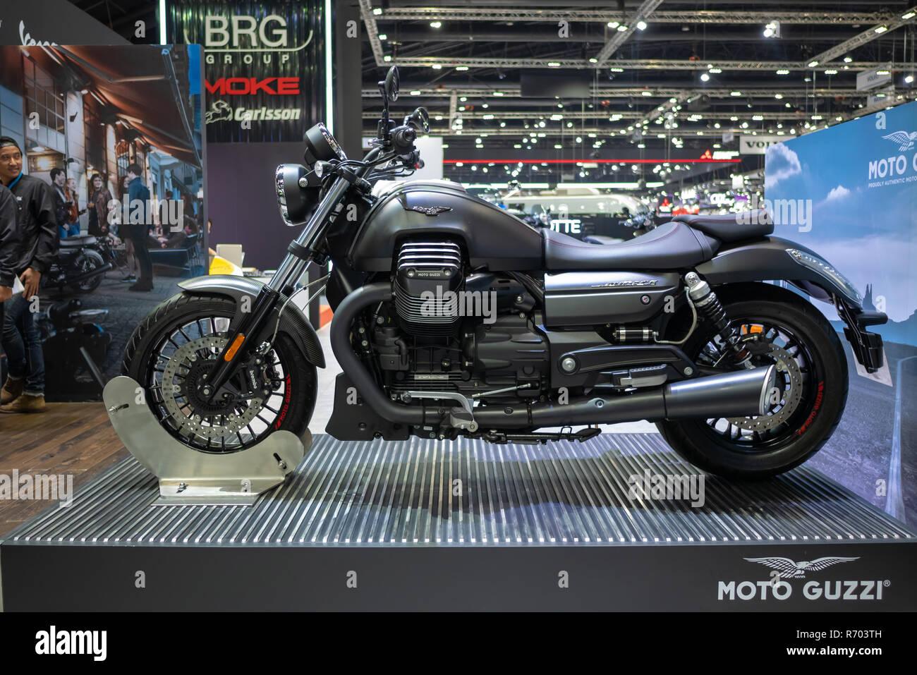 Bangkok, Thailand - November 30, 2018 : Motorcycle and accessory at